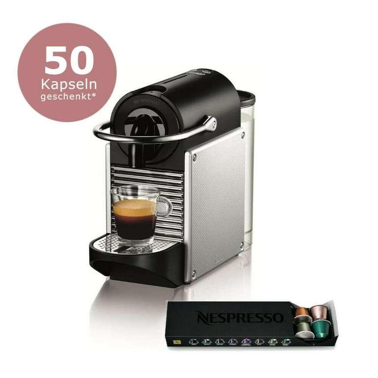 De'Longhi Pixie EN 125.S Nespresso Kapselmaschine + 50 Kapseln für 69€ inkl. Versand (statt 98€)