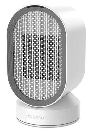 Energiesparender Dodocool Heizlüfter mit Oszillationsfunktion & 2 Stufen 24,99€