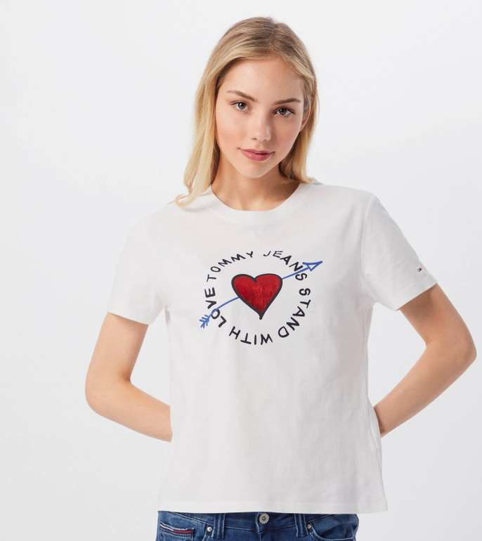 Tommy Jeans Shirt 'Arrow Graphic Tee' für 25,42€ inkl. VSK (statt 30€)