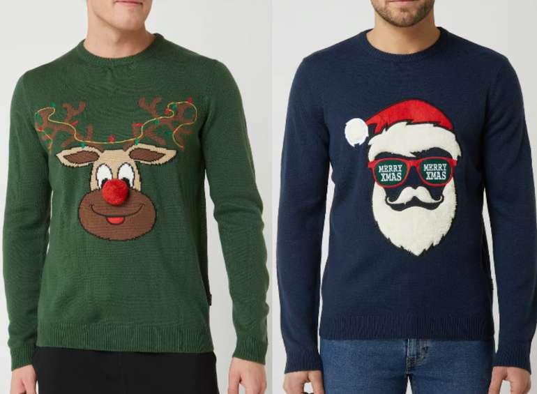 "Only & Sons Pullover mit Weihnachtsmuster ""Xmas"" (vers. Modelle) zu je 9,99€inkl. Versand (statt 24€)"