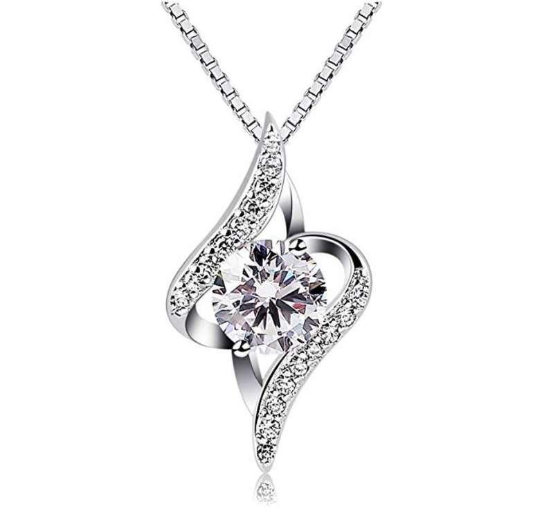"""B.Catcher Damen Halskette """"Sternennacht"""" aus 925er Silber für 9,99€ mit Prime"""