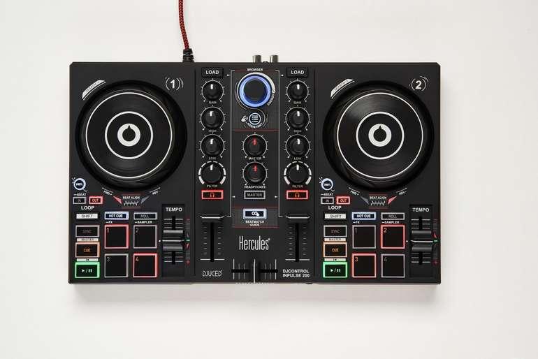 "Hercules-Mischpult ""DJ Control Inpulse 200"" für 53,10€ inkl. Versand (statt 84€) - Newsletter"