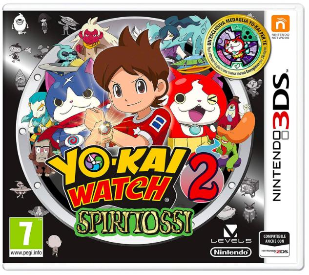 Yo-Kai Watch 2: Knochige Gespenster (3DS) für 10€ inkl. Versand (statt 18€)