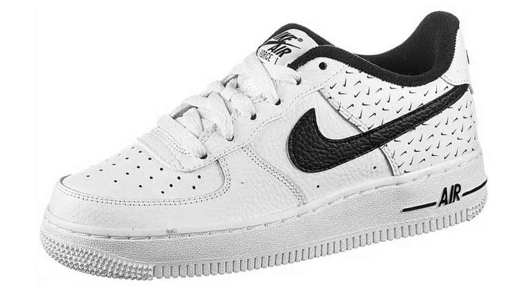 Nike Air Force 1 '07 Sneaker in Schwarz/Weiß für Kinder zu 71,91€inkl. Versand (statt 85€)
