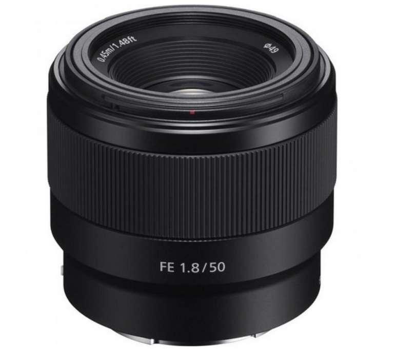 Sony FE 50mm f1.8 Objektiv für 149€ inkl. Versand (statt 189€)