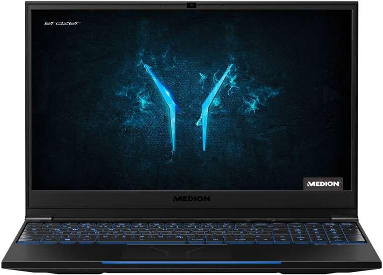 "Medion Erazer X15807 - 15,6"" Gaming Notebook (i7, RTX 2060, 512 GB SSD, 16 GB RAM) für 1.399,95€ inkl. Versand"