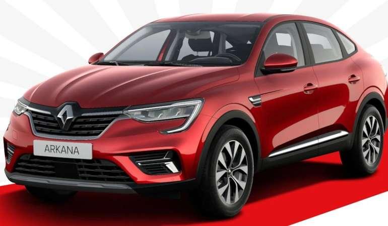 Gewerbe Testleasing: Renault Arkana ZEN TCe 140 EDC mit 140 PS für 89€ netto mtl. (LF: 0.32, Überführung: 599€)
