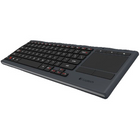 Logitech K830 Illuminated Living-Room Tastatur mit Touchpad für 66€ (statt 80€)