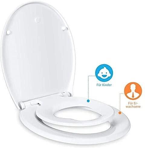 Dalmo Toilettendeckel für Kinder und Erwachsene (O-Form) für 22,99€ inkl. Prime Versand (statt 33€)