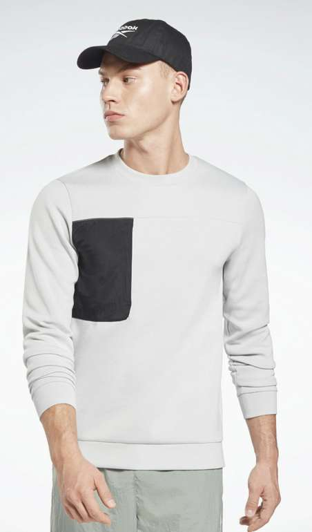 "Reebok Classic Sweatshirt ""MYT Crew"" in Grau für 15,90€inkl. Versand (statt 30€)"