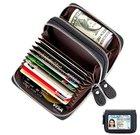 Lebexy Leder Kreditkartenetui mit RFID-Schutz für 9,78€ inkl. Prime Versand