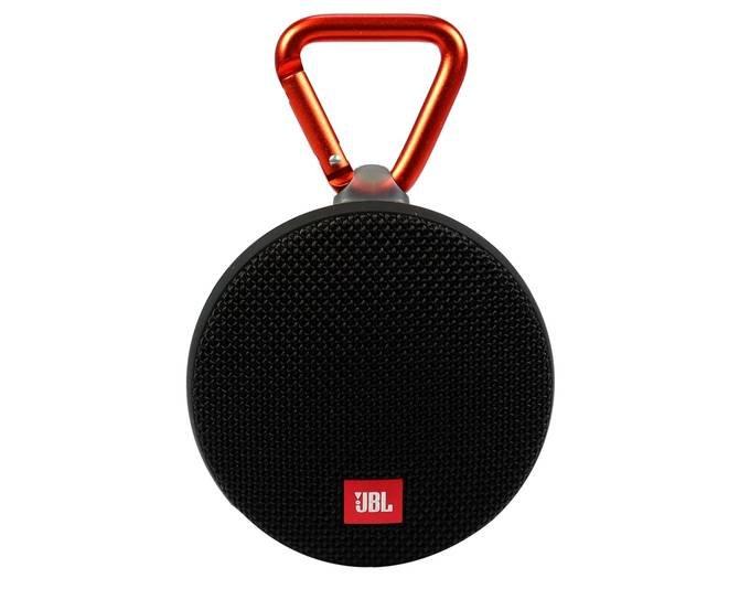 JBL Clip 2 Bluetooth-Lautsprecher in schwarz nur 19,50€ (Vergleich: 38€)