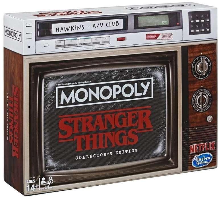 Monopoly Stranger Things Sammler-Edition (englische Ausgabe!) für 21,05€ (statt 43€) - Abholung!