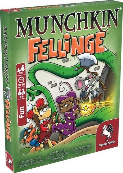 """Pegasus Spiele """"Munchkin Fellinge"""" für 6,59€ inkl. Versand (statt 12€) - Thalia KultClub!"""