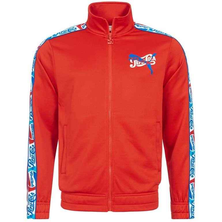 Puma x Pepsi Herren Track Top Jacke für 19,10€ inkl. Versand (statt 28€)
