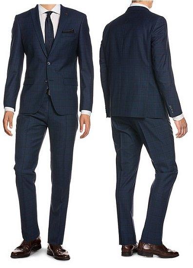 Verschiedene Roy Robson Anzüge aus 100% Schurwolle (Slim Fit) für je nur 199,99€ zzgl. VSK