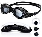 Turata 100% UV-Schutz Schwimmbrille + Nasenklammer & Ohrstöpsel für 4,18€
