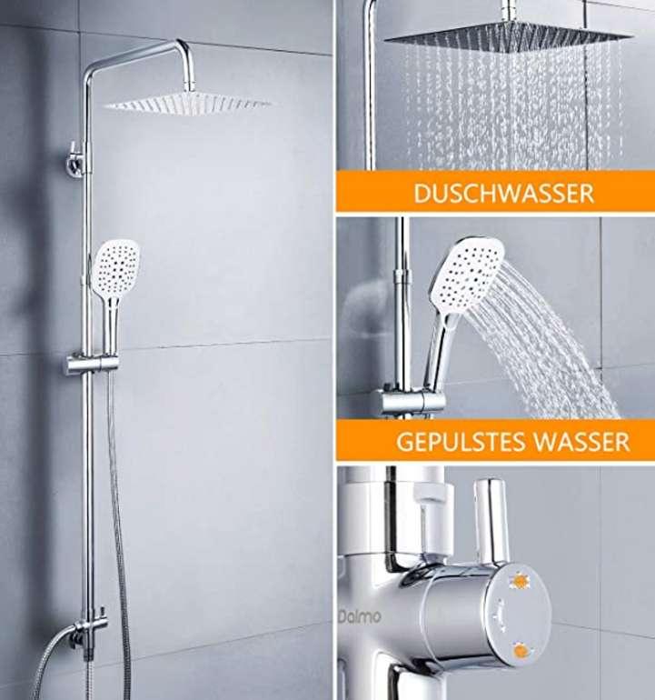 Dalmo Duschset Duschsystem DBWF01XS aus Edelstahl für 46,99€ inkl. Versand (statt 80€)
