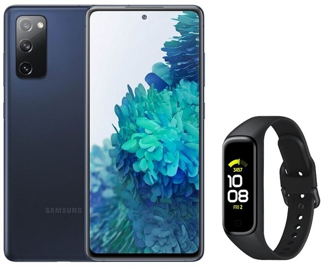Samsung Galaxy S20 FE + Galaxy Fit2 (+39,99€) inkl. Klarmobil Vodafone Allnet-Flat mit 10GB LTE für 24,99€ mtl.