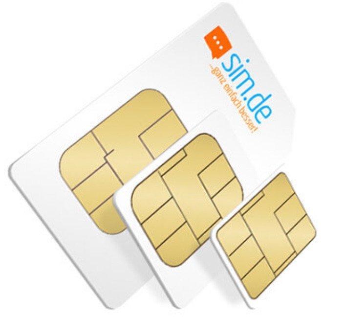 Nur heute: Sim.de o2 Allnet-Flat mit 5GB LTE Datenvolumen für 6,99€ mtl.