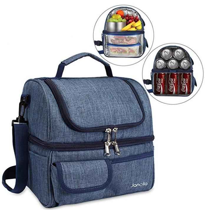 Janolia Kühltasche bzw. Lunchbox (bis 6 Std. Isolationszeit) für 13,19€ (Prime)