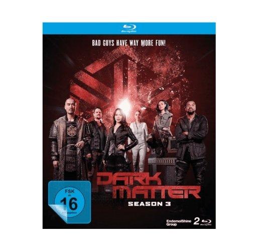 Dark Matter-Die Komplette 3.Staffel (Blu-ray) für 7,99€ inkl. Versand (statt 22€)