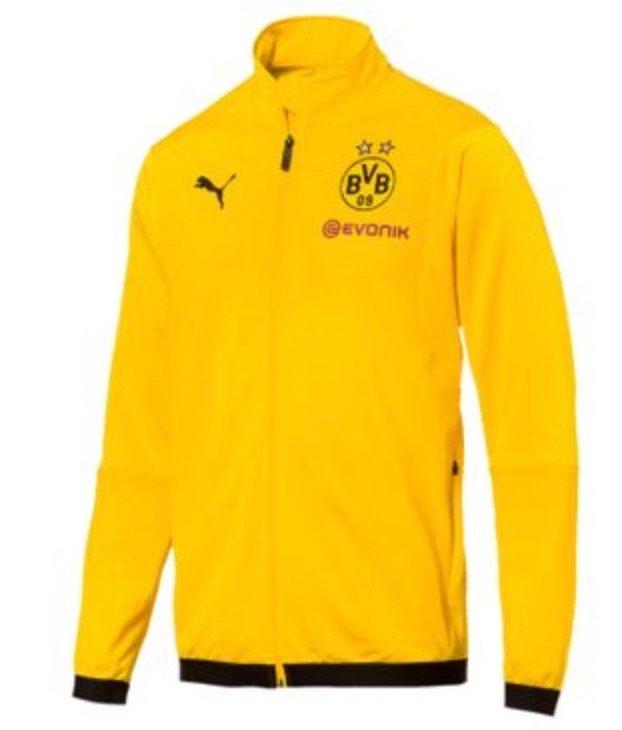 Puma BVB Borussia Dortmund Herren Trainingsjacke für 19,09€ inkl. Versand (statt 38€)