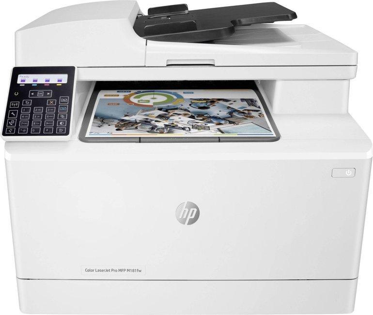 HP Laserjet M181fw Pro 4-In-1 Multifunktionsdrucker für 179,91€ inkl. Versand