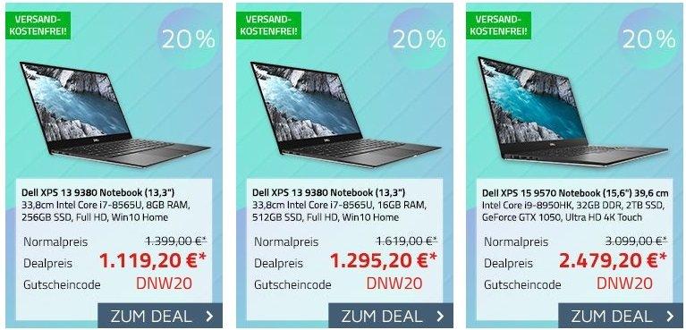 Office-Partner 20% Rabatt auf DELL Notebooks 2