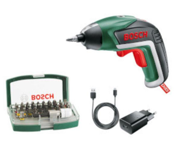 Bosch Marken Sale mit bis -65% Rabatt - z.B. Bosch IXO V + 10 Bits für 37,99€
