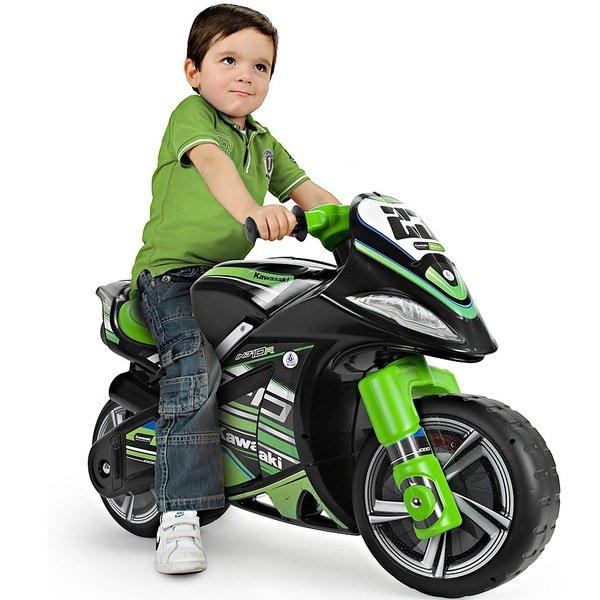 Injusa Rutschfahrzeug 'Motorrad Kawasaki' für 59,99€ inkl. Versand