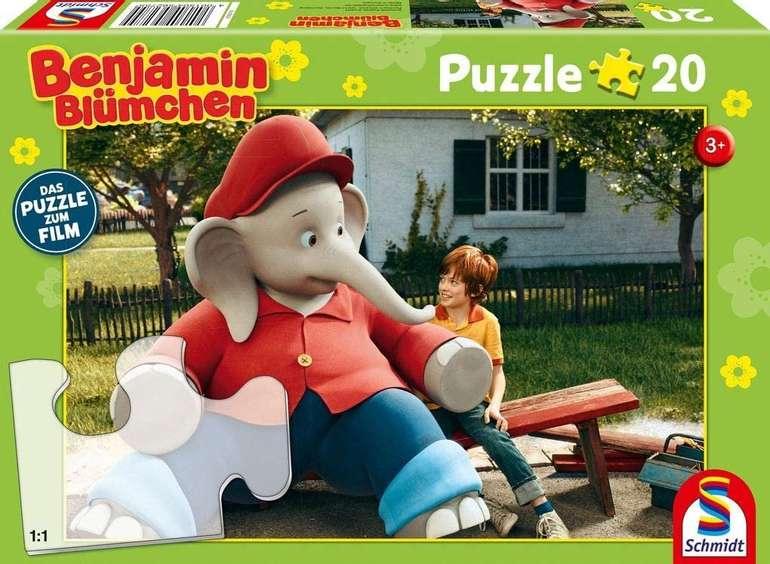 Schmidt 56275 - Benjamin Blümchen Ferien im Zoo Puzzle für 1,99€ inkl. Versand (statt 5€) - Thalia Club