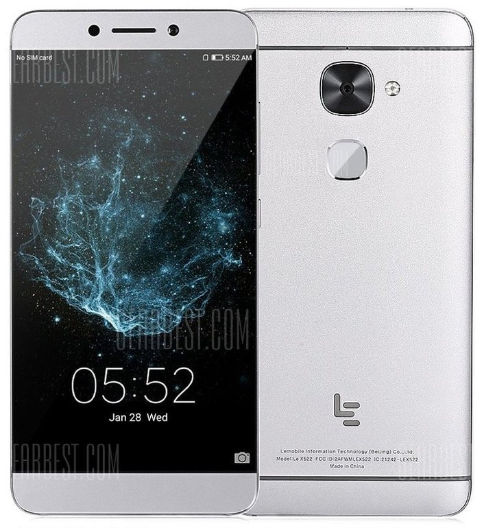 """Letv X522 5,5"""" Smartphone mit 32GB Speicher und 3GB RAM für 76,29€ inkl. Versand"""