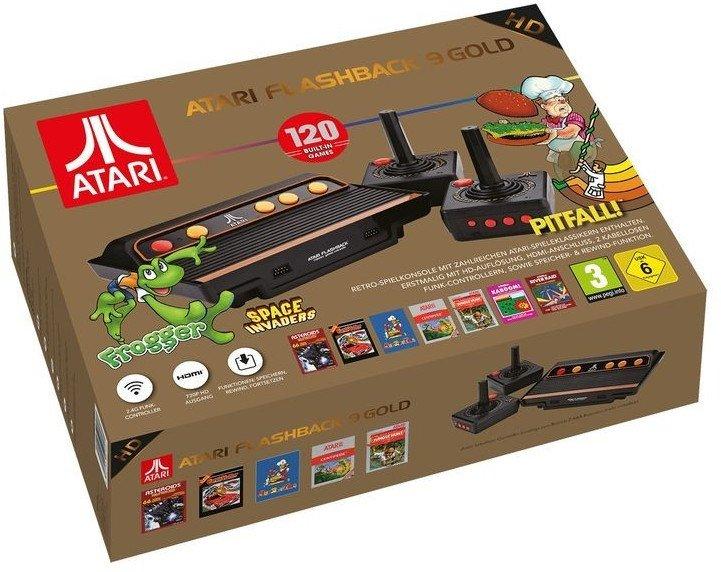 AT Games Atari Flashback 9 Gold HD Retro Spielekonsole für 54,94€ inkl. VSK (statt 99€)