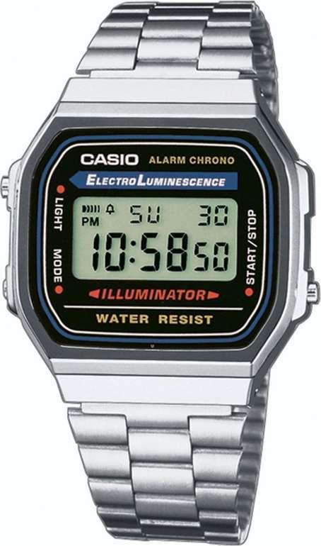 Casio Unisex Retro Digital Uhr A168WA-1YES  für 15,92€ inkl. VSK (statt 23€)