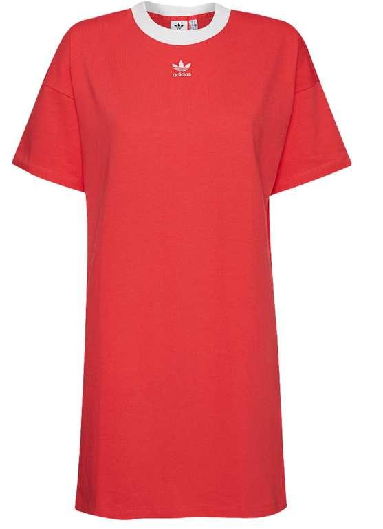 adidas Originals Trefoil Damen Kleid in Rot für 23,94€inkl. Versand (statt 40€)