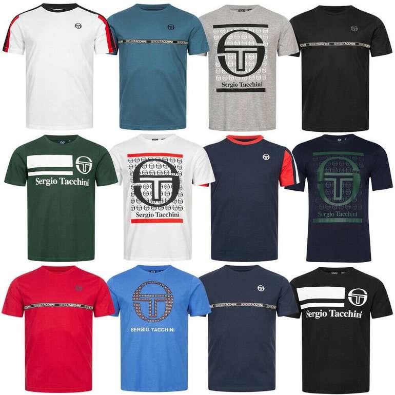 Sergio Tacchini T-Shirts in verschiedenen Varianten für je 15,99€ inkl. Versand (statt 20€)