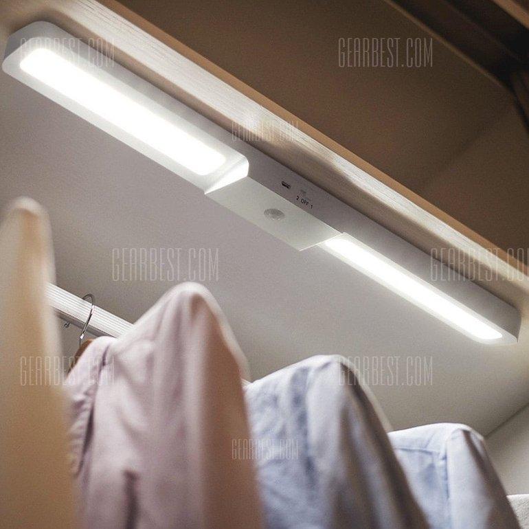 LED-Lichtleiste mit Näherungssensor für den Kleiderschrank nur 8,03€ mit Versand