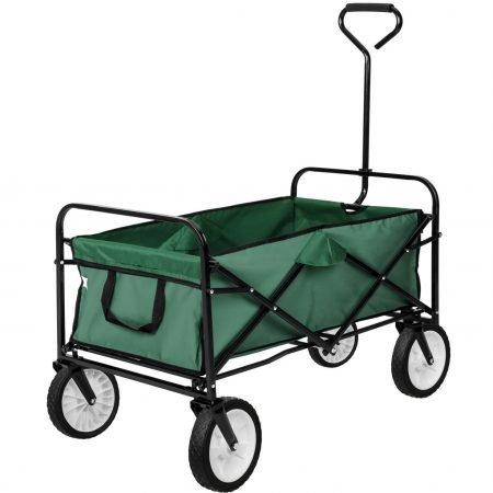 Faltbarer Bollerwagen in grün (max. 80kg) für 39,89€ inkl. Versand
