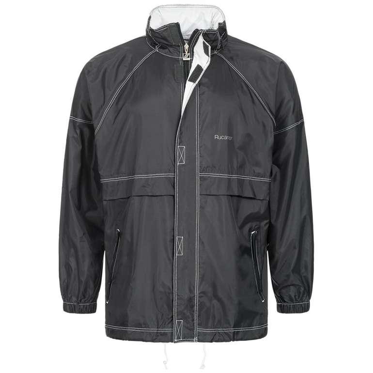 Rucanor Herren Regen Jacke mit Tasche 2079-01B für 10,94€ inkl. Versand (statt 13€)