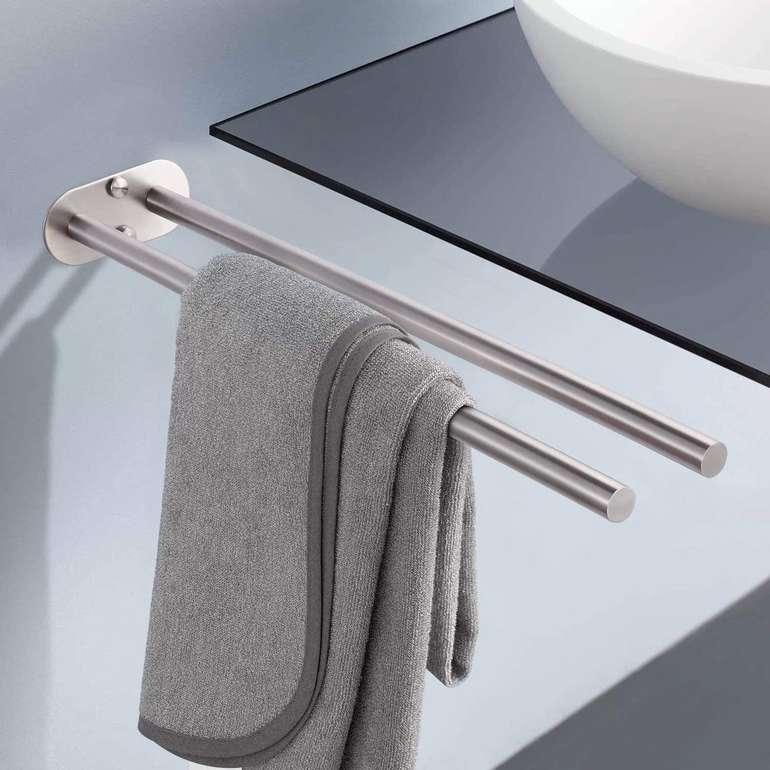 Dalmo DBTH02SR Edelstahl Handtuchhalter (45 cm) für 7,99€ inkl. Prime Versand (statt 21€)