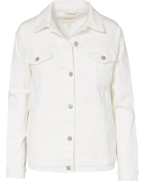 Esprit Jeansjacke in weiß für 23,94€ inklusive Versand (statt 31€)