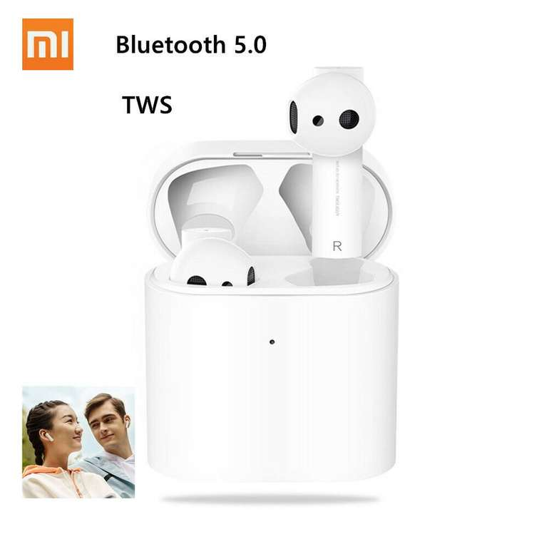 Xiaomi Air 2 Bluetooth 5.0 True Wireless TWS Kopfhörer für 64,99€ inkl. VSK