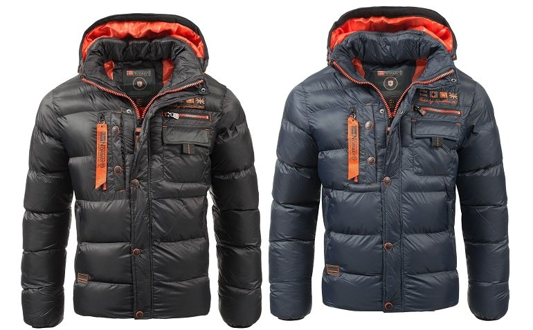 Geographical Norway Citernier Herren Winterjacke