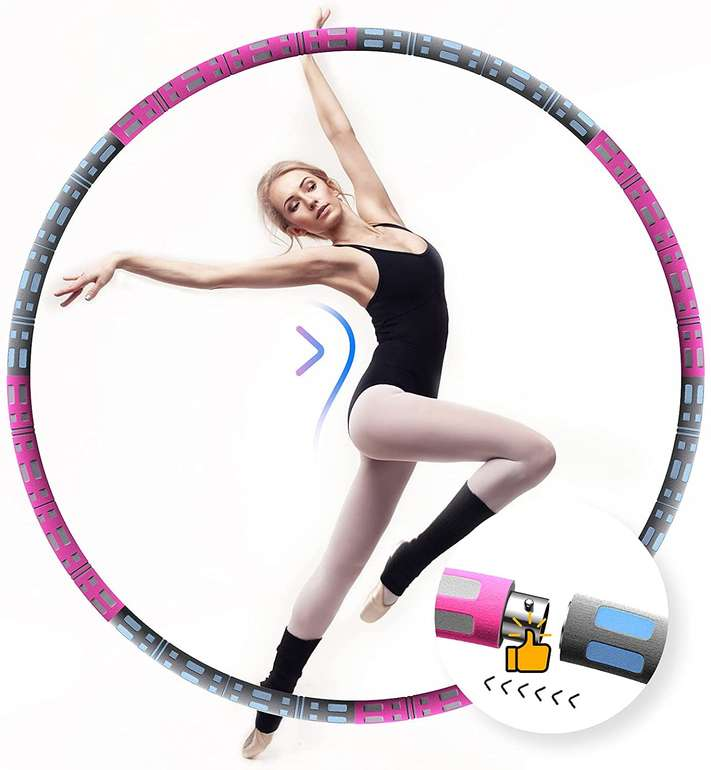 Aikove Hula Hoop Reifen (95cm) in 2 Farben für je 7,80€ inkl. Prime Versand (statt 10€)