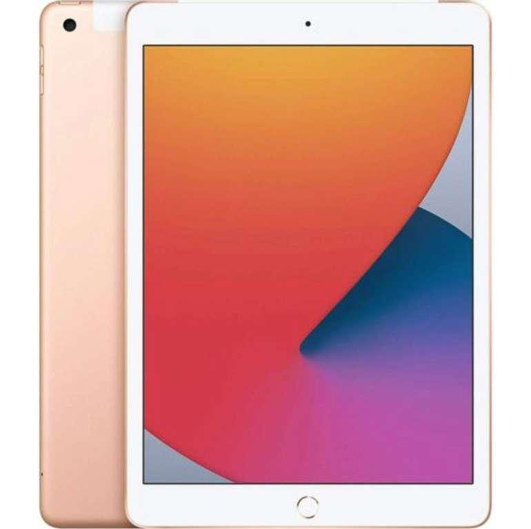 """Apple iPad - 10.2"""" mit 128GB und LTE. in silber oder grau (8. Generation, 2020 (MYMM2FD/A)) für 509,90€"""