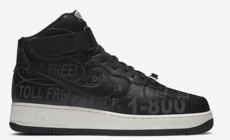 Nike Air Force 1 High Herren Schuhe in Schwarz für 79,99€inkl. Versand (statt 100€)