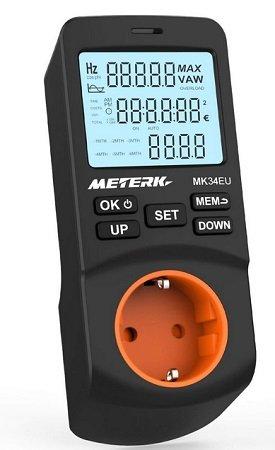 Meterk Energiekostenmessgerät für 11,89€ inkl. VSK