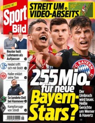 """51 Ausgaben """"Sport Bild"""" für 102,20€ + 75€ BestChoice Gutschein"""