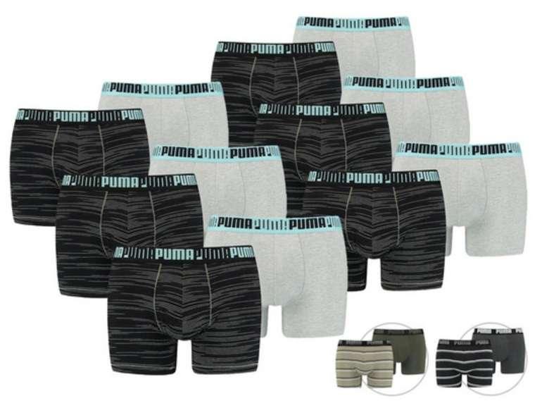 12er Pack Puma Boxershorts in verschiedenen Farben für 55,90€inkl. Versand (statt 63€)